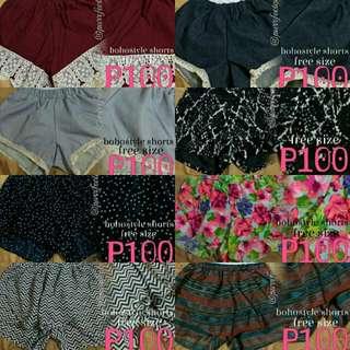 Boho Style Shorts
