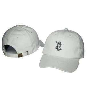 Drake 6 god prayer cap WHITE