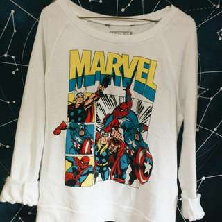 Marvel Graphic Sweatshirt
