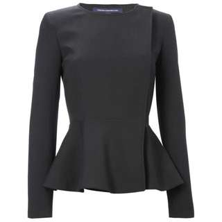 French Connection Peplum Tailored Jacket