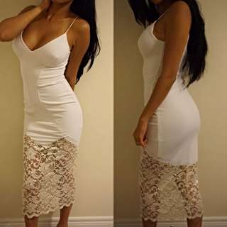 White Dress From Top Shop