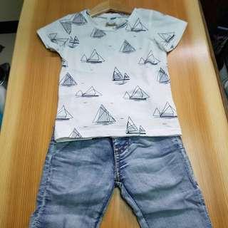 韓國製帆船童T