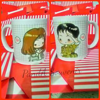 Mug Couple Descendant Of The Sun