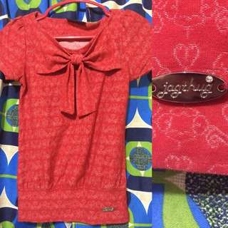 Jagthug Blouse Red