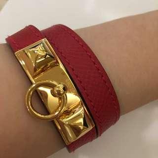 Hermes 皮革手環