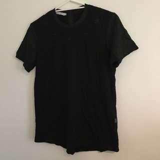 STUSSY star detail shirt