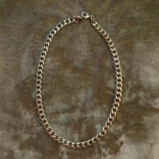Pink And Gold Chain Necklace