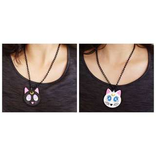 Sailor Moon Luna Or Artemis Necklace