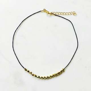 Gold Multi-Bead Choker