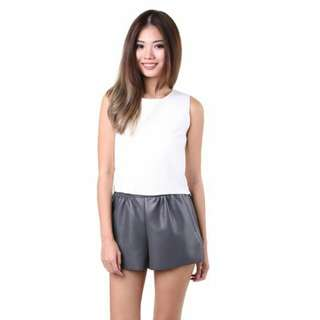 MGP Label -  Berenice Laced Top in White (BNWT) - M Size