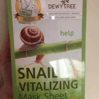dewy tree蝸牛面膜 2盒