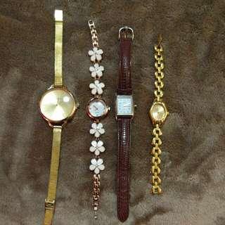 4-piece Watch Set