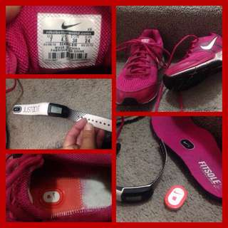 Nike Shoes/watch Size 7