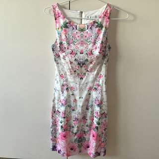 Floral Forever New Dress size 4