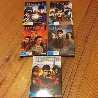 Merlin Complete Series
