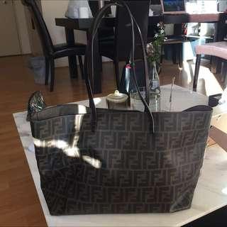 Authentic Fendi Tote Bag