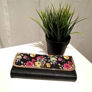 colette floral wallet