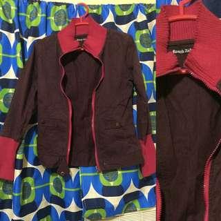 Jacket Maroon Lee