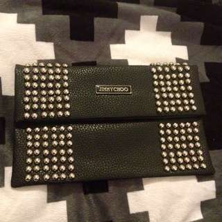 Jimmy Choo Studded Clutch