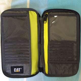 brand new CAT travel wallet/bag/pouch/clutch
