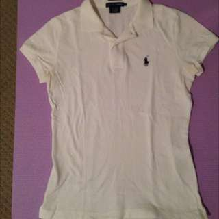 Ralph Lauren Polo White, Size S