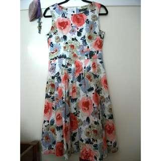 Floral Party Dress