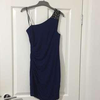 Forever New Navy Blue Dress
