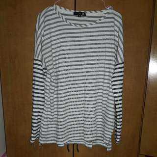 LONG STRIPES PULLOVER