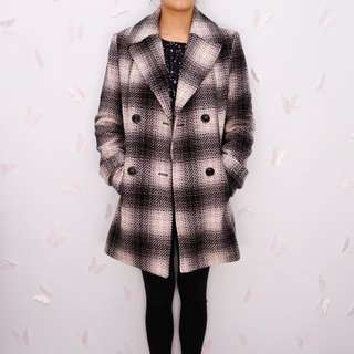 B&W Coat Size 10-12