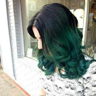 Hair Dye Coloring Powder (Green)