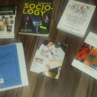 Ssw (Social Service Worker) First Year Textbooks -college