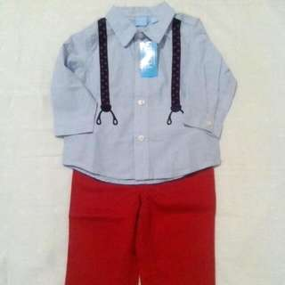 Baby Polo with Pants