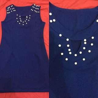 Unbranded Dress Royal Blue