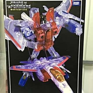Transformers Masterpiece: MP-3G Starscream (Ghost Version)