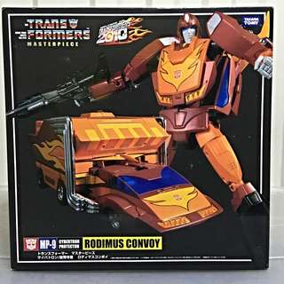 Transformers Masterpiece: MP-9 Rodimus Convoy (With Collectors Coin)