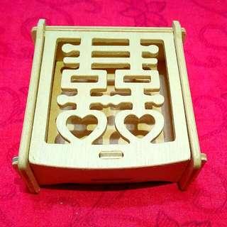 精緻木雕小盒