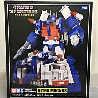 Transformers Masterpiece: MP-22 Ultra Magnus (With Collectors Coin)