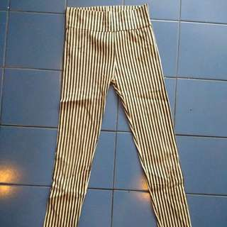 (X) SML - Legging Stripes
