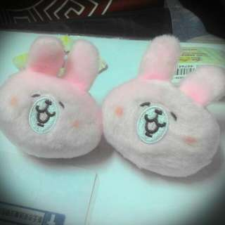 兔子的娃娃吊飾~~♡♡♡