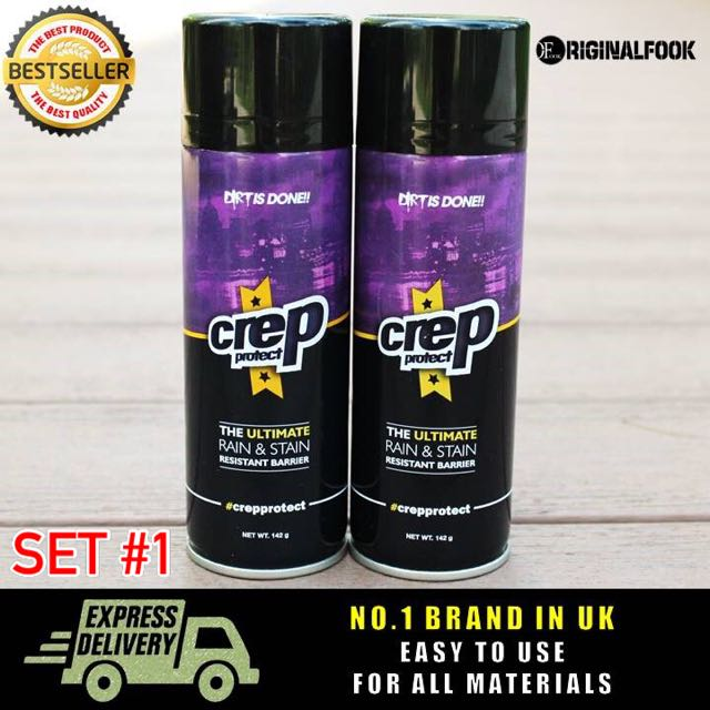 buy online 0a237 1b70f 2 For $52) Crep Protect Water Repel / Repellent Shoe Spray ...