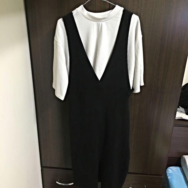 吊帶裙(含衣)