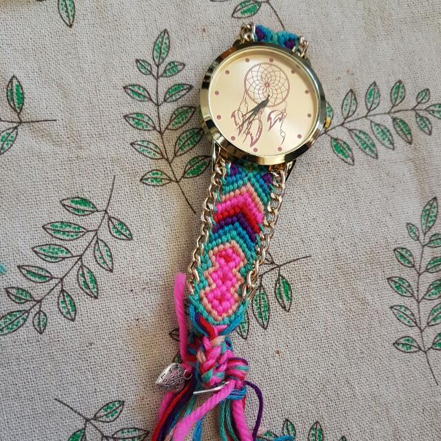 adjustable braided watch