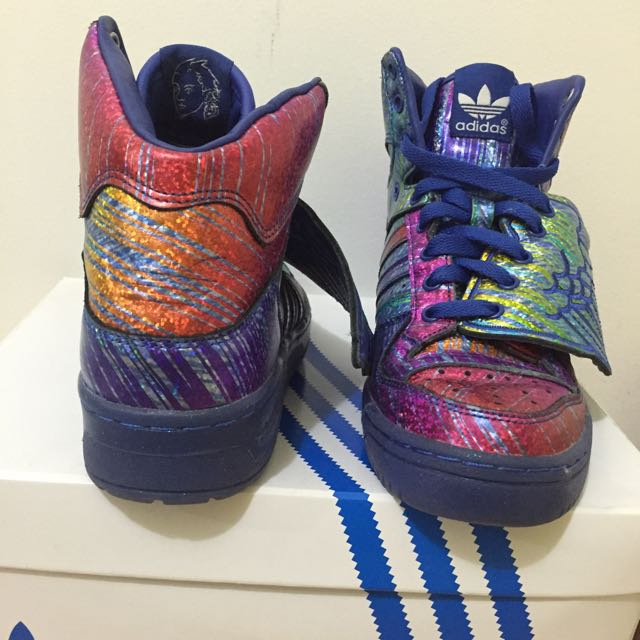 AUTH Jeremy Scott adidas Originals JS wings Size 7/ 37