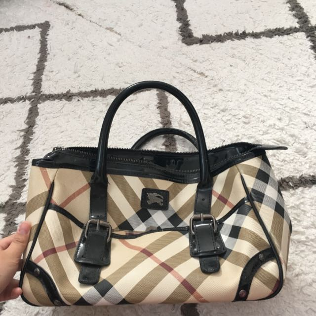 BURBERRY PATTERNED BAG
