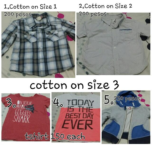 Cotton On Kids (PRELOVED)