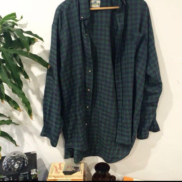 Checkered Vintage Flannelette