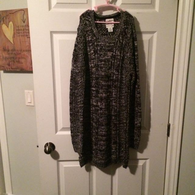 Grey Medium Knit Dress