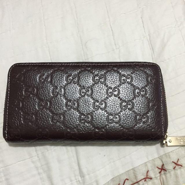 Gucci Icon Signature Wallet (replica)