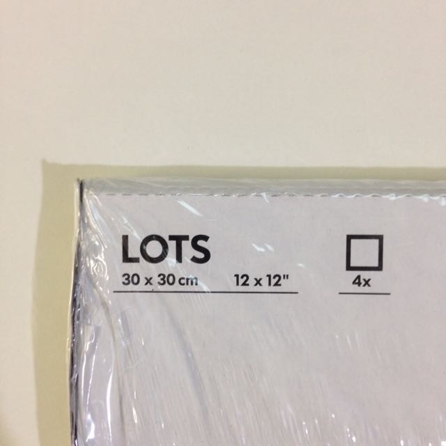 IKEA Square Mirrors Pack Of TWO