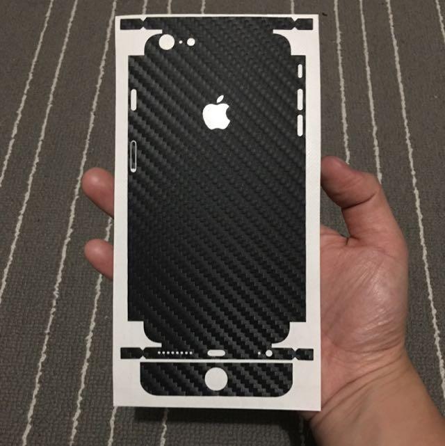 iPhone 6 Plus Carbon Fibre Skin